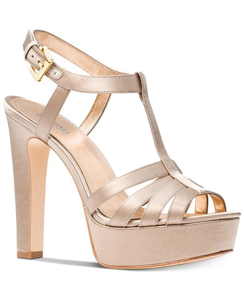 cfec9c01bae Michael Kors Catalina Platform Dress Sandals   Reviews - Sandals ...