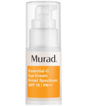 Murad Essential-c Eye Cream Broad Spectrum Spf 15 Pa++, 0.5 fl. oz.