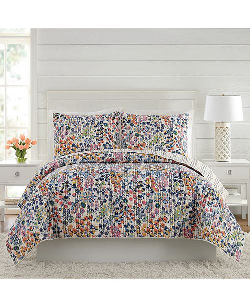 Vera Bradley Petite Floral Quilt Collection   Reviews - Quilts ... d41953e9ccdc1