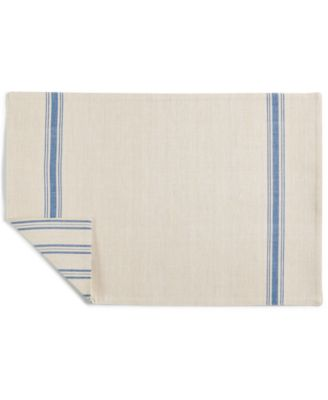 Striped Navy Cotton Placemat, Created for Macy's