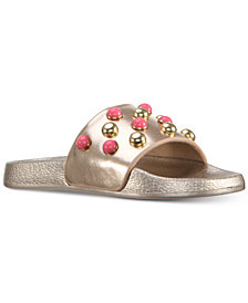Nina Jeanine  Sport Slide Sandals, Little Girls & Big Girls