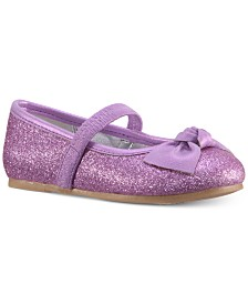 Nina Larabeth-T Bow Ballet Flats, Toddler & Little Girls (4.5-3)