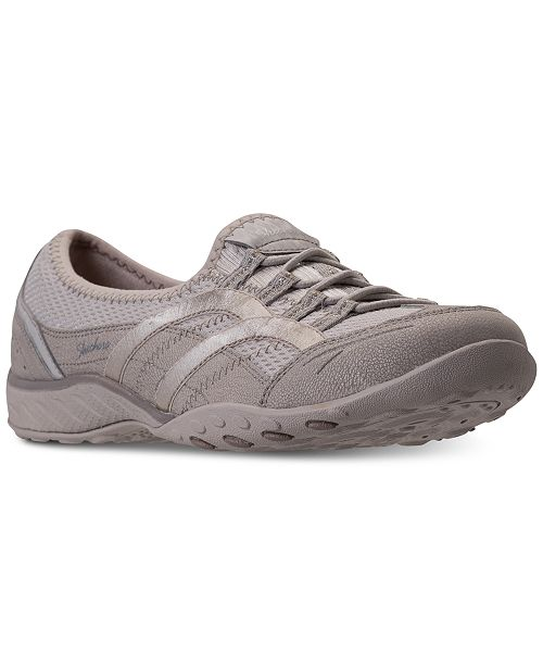 ccacee18b9b1 ... Skechers Women s Relaxed Fit  Breathe Easy - Well Versed Walking  Sneakers from Finish ...