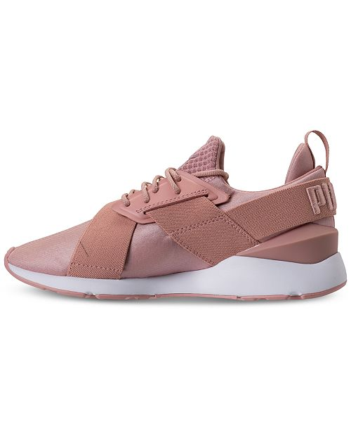 ab9738b860b Puma Women s Muse Satin EP Casual Sneakers from Finish Line ...