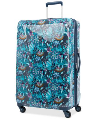 "Infinity Lite 3 Lotus Temple 29"" Hardside Spinner Suitcase, Created for Macy's"