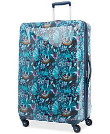 "Atlantic Infinity Lite 3 Lotus Temple 29"" Hardside Spinner Suitcase, Created for Macy's"