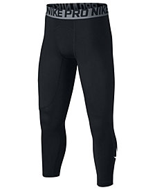 Nike Pro Three-Quarter Tights, Big Boys
