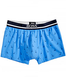Hugo Boss Men's Sailboat-Print Trunks