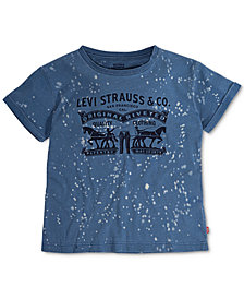 Levi's® Bleach-Out Cotton T-Shirt, Big Girls