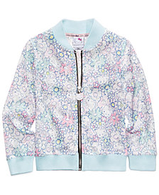 Hello Kitty Printed Lace Bomber Jacket, Toddler Girls