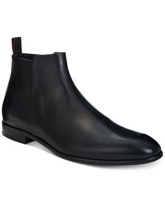 HUGO BOSS Hugo Men's Dress Appeal Leather Chelsea Boots - 100% Exclusive