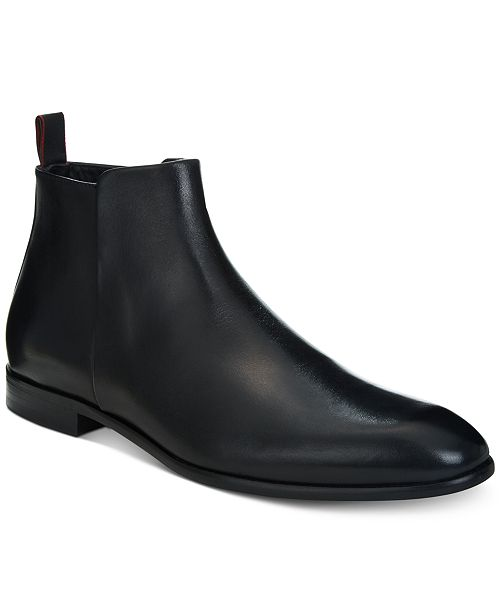 HUGO BOSS Hugo Men's Dress Appeal Leather Chelsea Boots - 100% Exclusive DRJOsUz7pJ