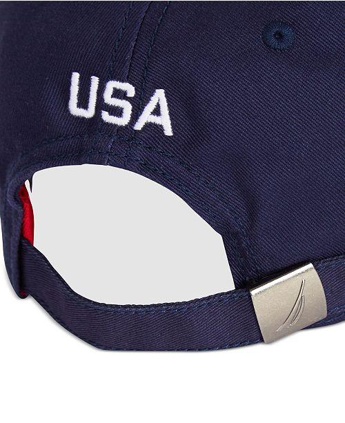 e1a9d6ac81b Nautica Men s USA Cap