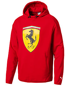 Puma Men's Ferrari Big Shield French Terry Hoodie