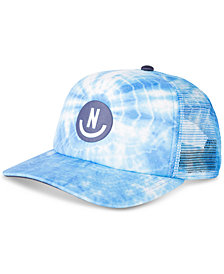 Neff Men's Smile Wash Tie-Dye Logo Cap