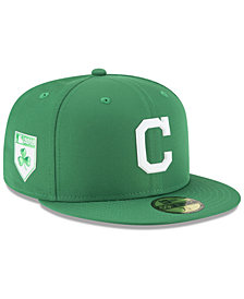 New Era Cleveland Indians St. Patty's Day Pro Light 59Fifty Fitted Cap
