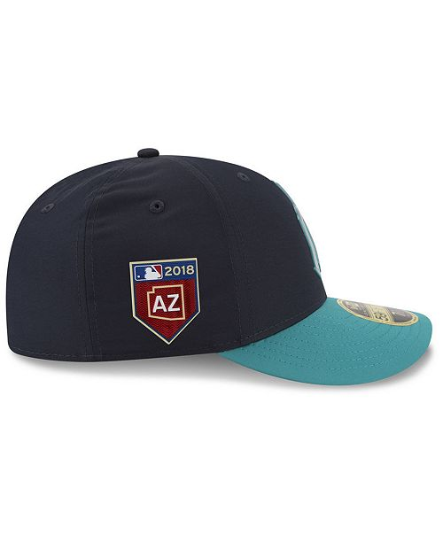 first rate 9201d 18ef1 ... New Era Seattle Mariners Spring Training Pro Light Low Profile 59Fifty  Fitted Cap ...