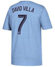 adidas Men's David Villa New York City FC Primary Player T-Shirt
