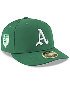 New Era Oakland Athletics St. Patty's Day Pro Light Low Crown 59Fifty Fitted Cap