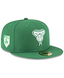 New Era Arizona Diamondbacks St. Patty's Day Pro Light 59Fifty Fitted Cap