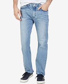 Men's Stretch Straight-Leg Jeans