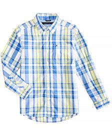 Tommy Hilfiger Plaid Shirt, Big Boys