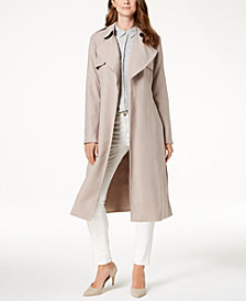 Cole Haan Signature Drapey Belted Trench Coat