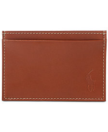 Polo Ralph Lauren Men's Accessories, Burnished Leather Slim Card Case