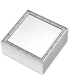 """Vera Wang Wedgwood With Love 4"""" Square Keepsake Box"""