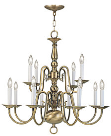 Livex Williamsburgh 12-Light Chandelier