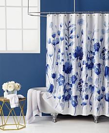 "bluebellgray Corran Floral-Print 72"" x 72"" Shower Curtain"