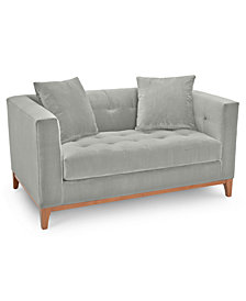 "Martha Stewart Collection Brookline 60"" Loveseat - Custom Colors, Created for Macy's"