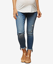 Jessica Simpson Maternity Cropped Skinny Jeans