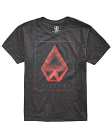 Volcom Men's Concentric Heather Logo-Print T-Shirt, Created for Macy's