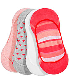 HUE® Women's  4-Pk. Low-Cut Liner Socks