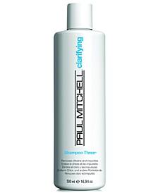 Clarifying Shampoo Three, 16.9-oz., from PUREBEAUTY Salon & Spa