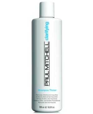 Image of Paul Mitchell Clarifying Shampoo Three, 16.9-oz, from Purebeauty Salon & Spa