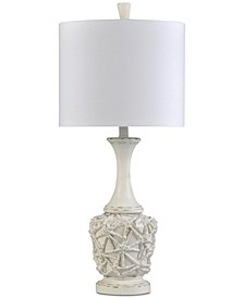 Old Distressed Table Lamp