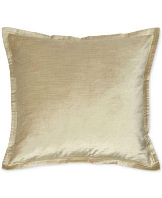 "Velvet Quilted Vapor 20"" Square Decorative Pillow"