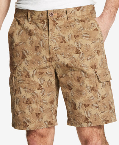 Weatherproof Vintage Men's Printed Cargo Shorts