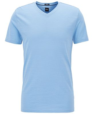 BOSS Men's Mercerized Cotton T-Shirt