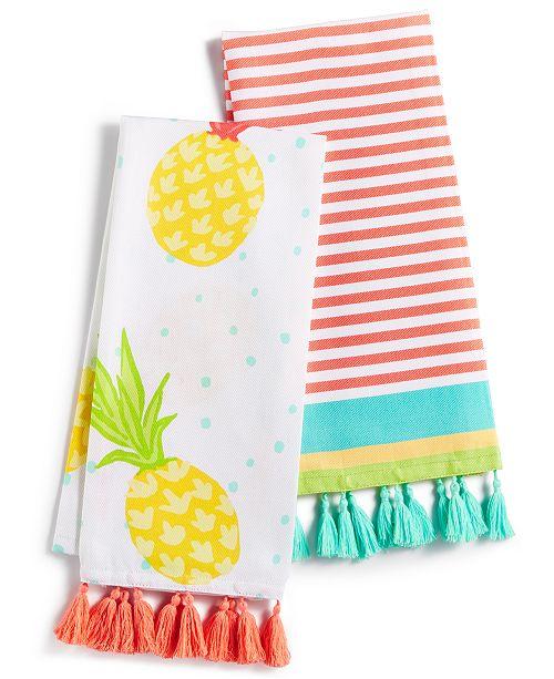 Martha Stewart Collection 2 Pc Fiesta Kitchen Towel Set