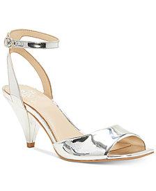 Vince Camuto Benatta Cone-Heel Dress Sandals, Created for Macy's