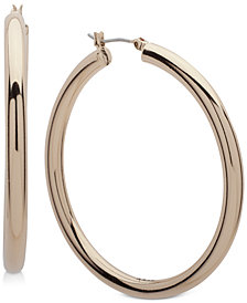 DKNY Thick Hoop Earrings, Created for Macy's