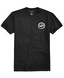 Quiksilver Men's Tropical Fade Logo-Print T-Shirt
