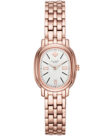 kate spade new york Women's Staten Pink Stainless Steel Bracelet Watch 25x33mm