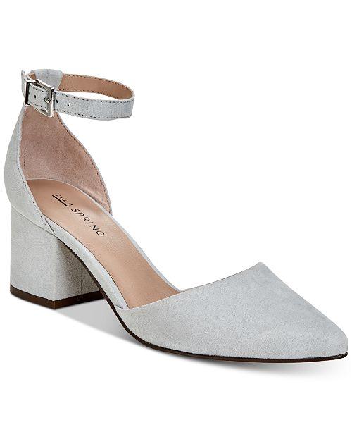 c77e2fb0296 Call It Spring Aiven Block-Heel Pumps   Reviews - Pumps - Shoes - Macy s