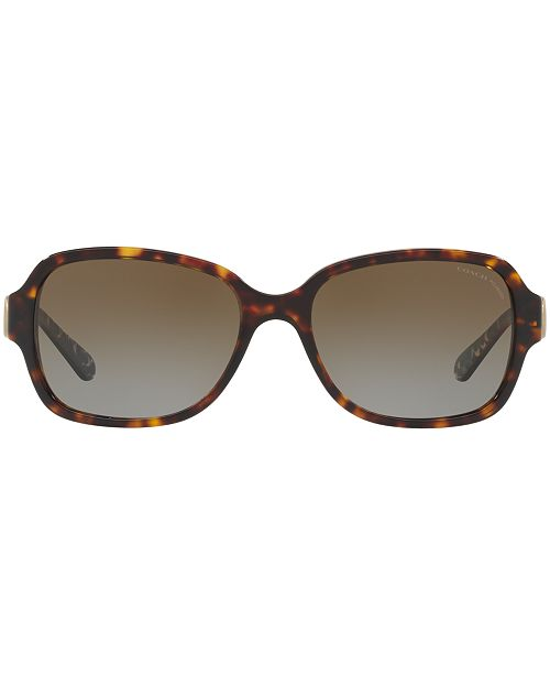 dcc36fea1737f ... coupon for coach sunglasses hc8241 l1031 sunglasses by sunglass hut  handbags accessories macys 692e2 8abf7