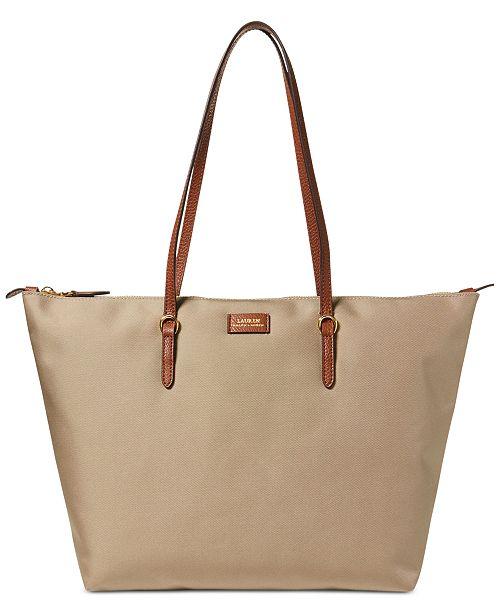 ac812fd3cb Lauren Ralph Lauren Chadwick Tote   Reviews - Handbags   Accessories ...