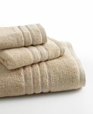 Lenox Bath Towels Platinum Solid 30 x 58 Bath Towel Bedding
